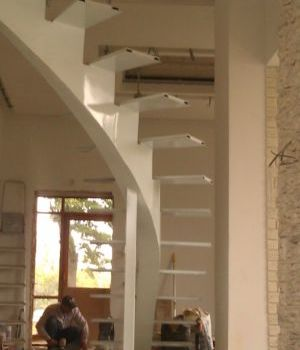 Металлокаркас для лестницы Татарстан Альметьевск