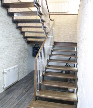 Лестница на открытом каркасе Татарстан Усады