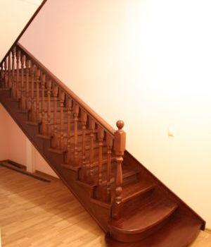 Лестница на металлическом каркасе Татарстан Вороновка