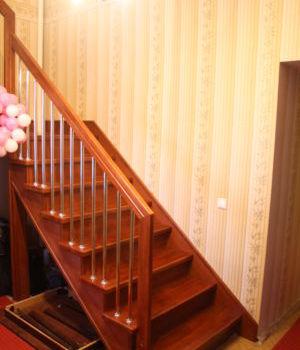 Лестница на металлическом каркасе Татарстан Большие Клыки