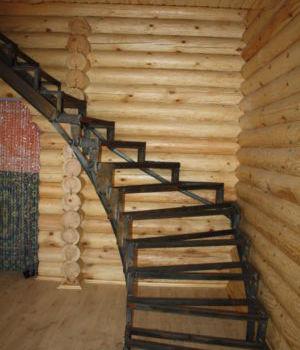 Металлокаркас для лестницы Татарстан Казань