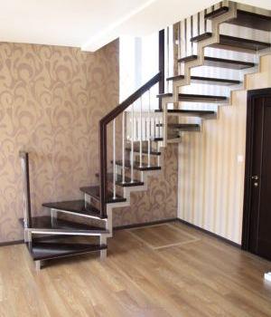 Лестница на открытом каркасе Казань Константиновка