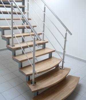Лестница на открытом каркасе Татарстан Казань