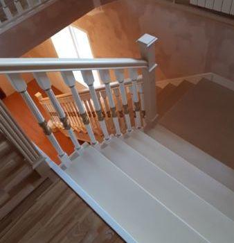 Классическая лестница Татарстан село Шемордан