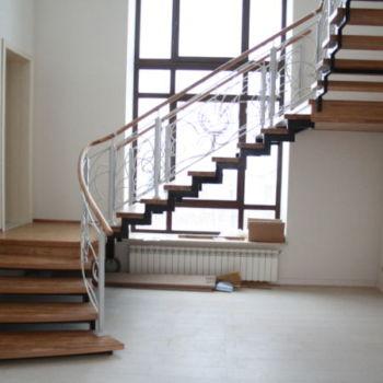 Лестница на открытом каркасе Куземетево Казань