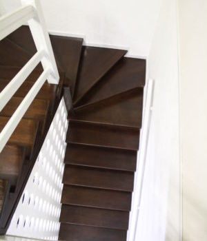 Лестница на металлическом каркасе Татарстан Зеленодольск