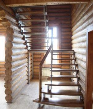 Лестница на открытом каркасе Татарстан Макаровка
